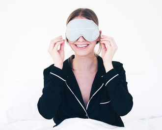 the august diaries blogger sleep mask