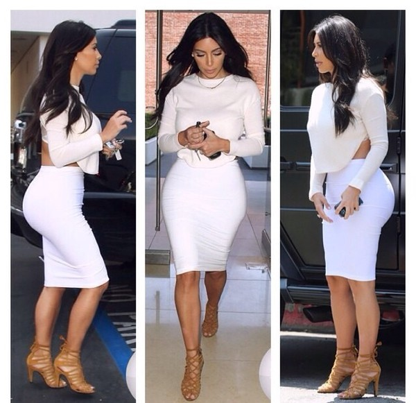 top kim kardashian keeping up with the kardashians fashion skirt