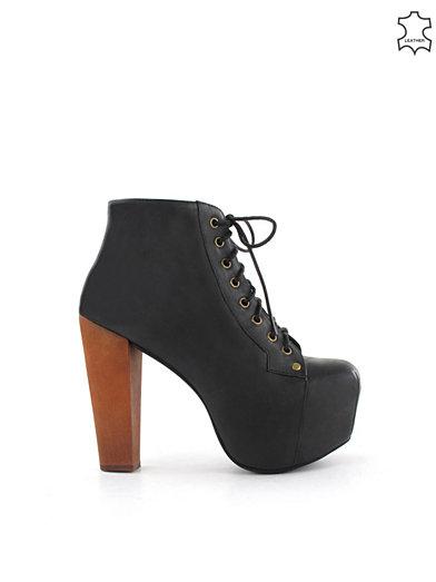 Lita Shoe - Jeffrey Campbell - Black - Party Shoes - Shoes - Women - Nelly.com