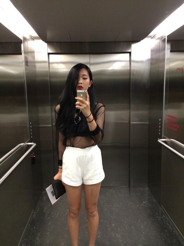 shorts top
