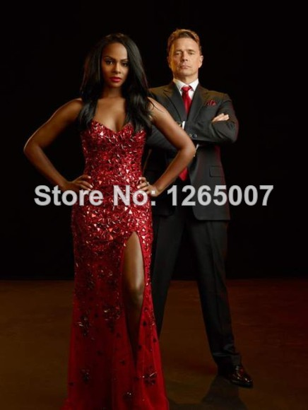Aliexpress.com : Buy New Arrival Sweetheart Heavy Beaded Crystal Diamond Chiffon Sparkly A Line Slit Summer Red Prom Dresses Pargent Fashion Gowns from Reliable dress wear summer wedding suppliers on SFBridal