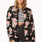 Wild rose quilted bomber jacket | forever21 - 2000128618