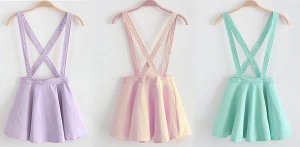 skirt suspenders