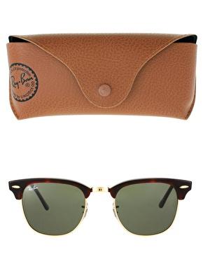 Ray-Ban   Ray-Ban Clubmaster Sunglasses at ASOS