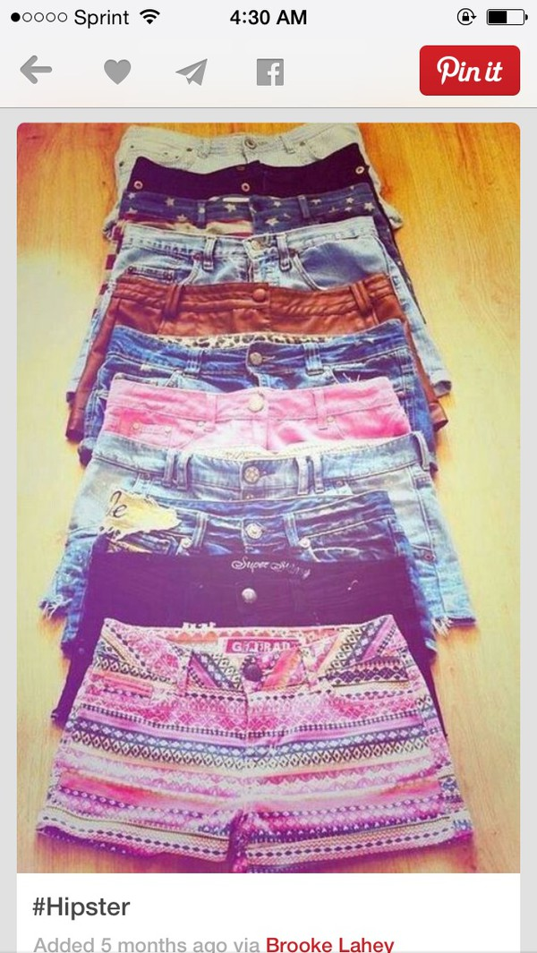 pretty pattern shorts summer shorts summer outfits beachr girl look