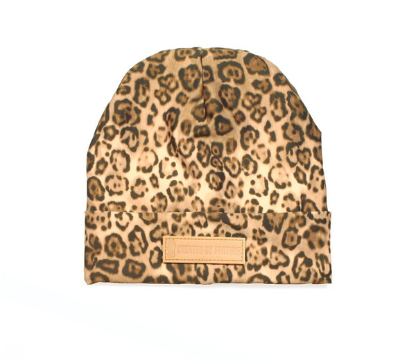 Leopard printed beanie   Created by Fortune