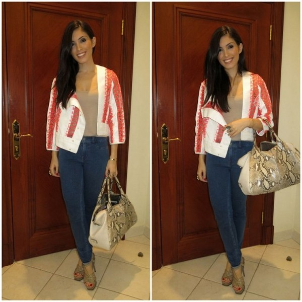 my fash diary jacket bag jeans shoes