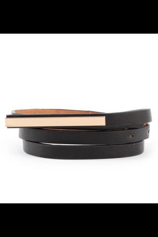 Skinny Mini Metal Mirror Belt | Ooh La Luxe!  - Juniors & Contemporary High Street Fashion