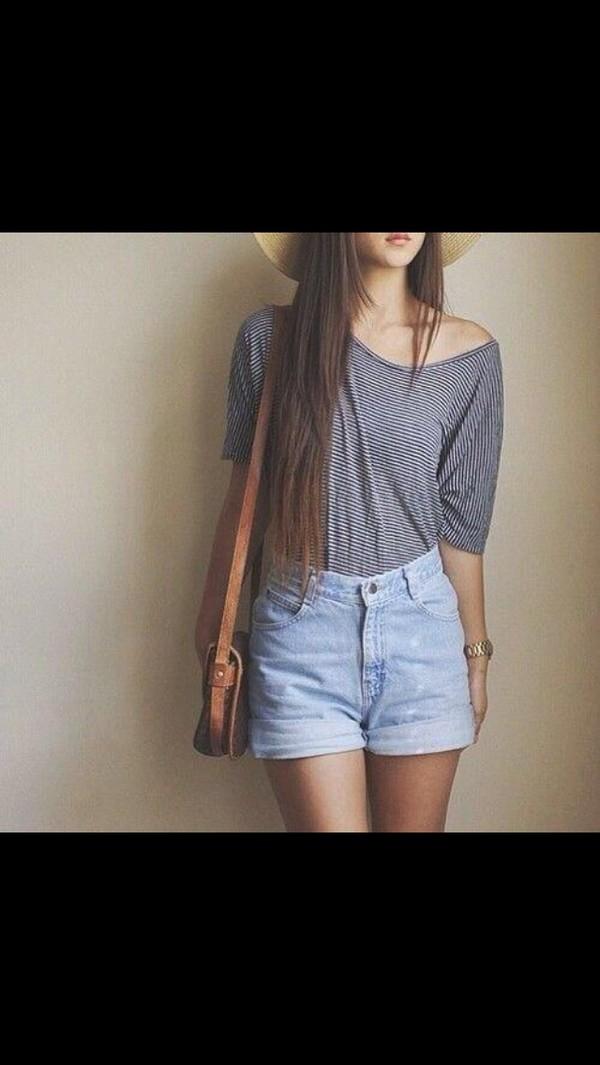shorts shoes shirt