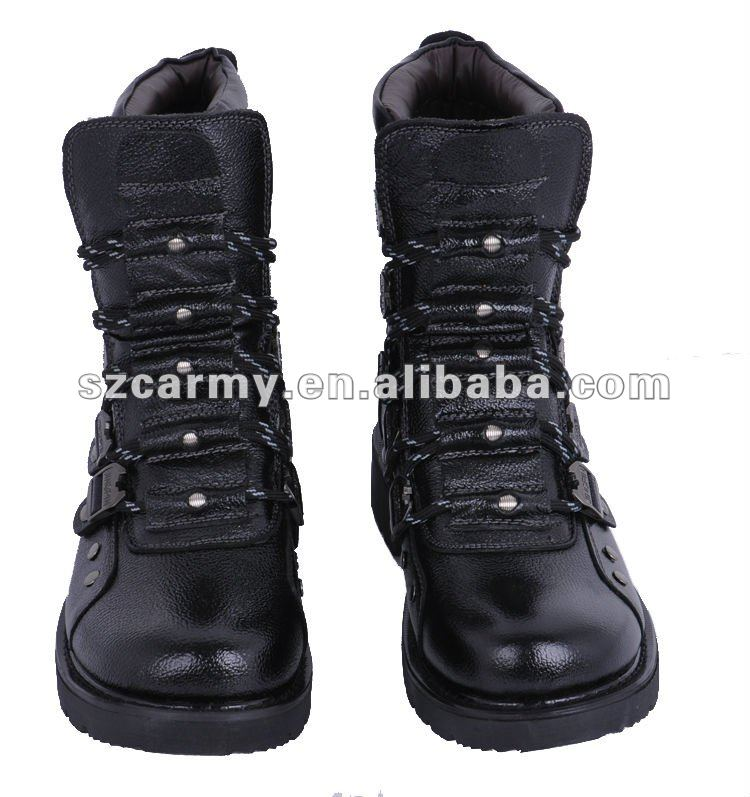 Hot Sale High Quality Leather Military Boots/ Combat Boots /army Boots - Buy Military Genuine Leather Combat Boots,Tactical Combat Boots,Military Leather Flying Boots Product on Alibaba.com