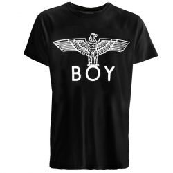 Rihanna's BOY London BOY EAGLE T-SHIRT Black [Boy_T02] - $16.00 : caooop.com