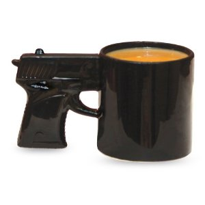 Amazon.com: Big Mouth Toys The Gun Mug: Kitchen & Dining