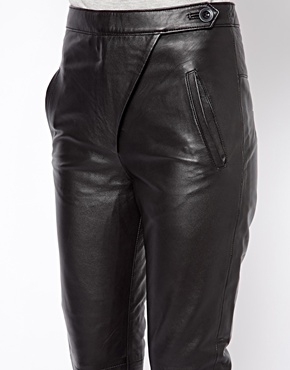 Warehouse | Warehouse Leather Trouser at ASOS