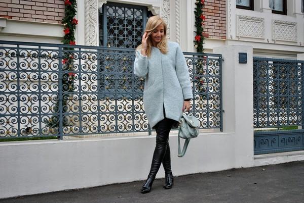 let's talk about fashion ! coat bag shoes