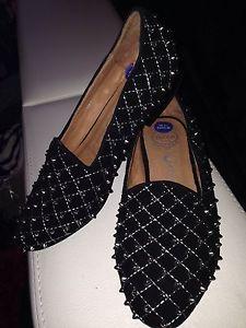 Jeffrey Campbell Black Studded Flat Shoes Loafers Size 36 Uk 3 1/2 Rrp £161 | eBay