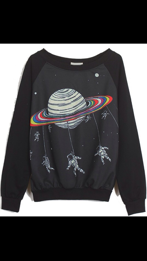 space rainbows astronauts jumper rainbow black sweater jacket sweatshirt science galaxy print saturn hoodie baseball science tumblr tumblr outfit tumblr girl tumblr shirt tumblr sweater tumblr top tumblr fashion tumbrl outfits aesthetic tumblr tumblr grunge tumblr style girly outfits tumblr galaxy shirt galaxy sweater galaxy top galaxy print tshirt sweater weather printed sweater oversized sweater funny sweater black sweater