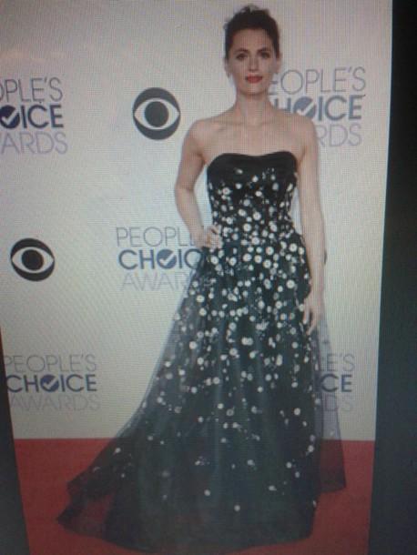 dress stana katic people's choice awards
