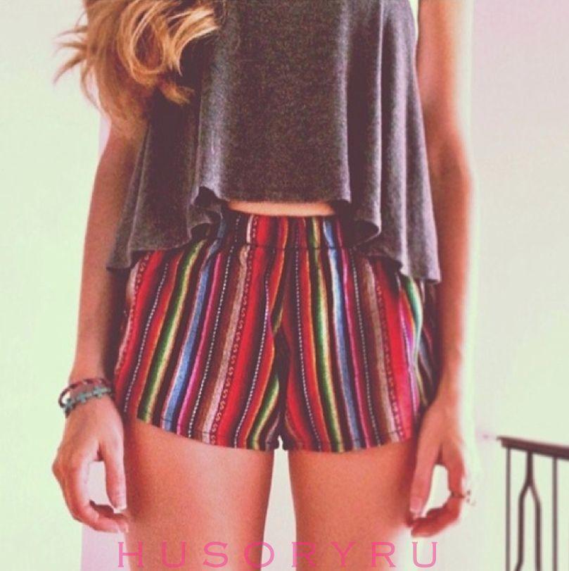 Brandy ♡ Melville Tribal Aztec Shorts | eBay