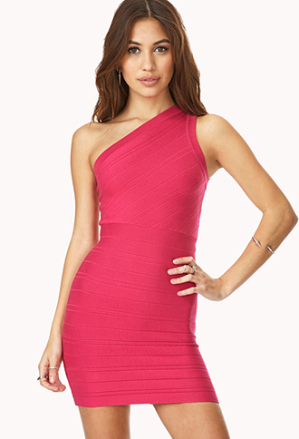 Night Out One-Shoulder Dress   FOREVER21 - 2000090623