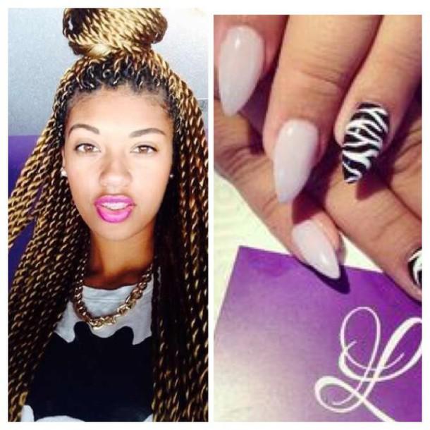 nail accessories chanel nail design