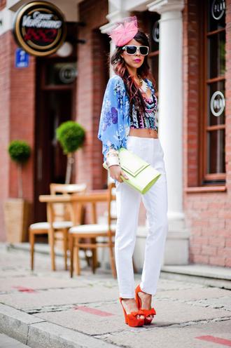 bag jewels shoes pants sunglasses t-shirt macademian girl