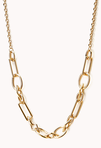 Modernist Chain-Link Necklace | FOREVER21 - 1000109903