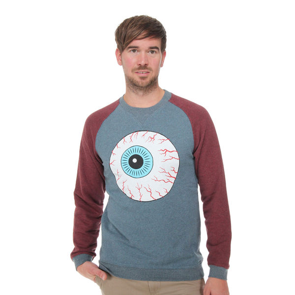 Mishka - Throwback Keep Watch Crewneck Sweater FL121211A | eBay