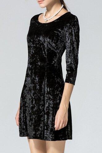 dress black dress black velvet dress velvet black dress velvet dress black velvet mini dress short dress velvet