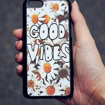 Daisy Good Vibes iPhone Case 5/5S 5C 4S/4 on Wanelo