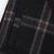 Dark Grey Plaid Asymmetric Wool-blend Skirt - Sheinside.com