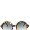Cutler and gross oversized leopard sunglasses
