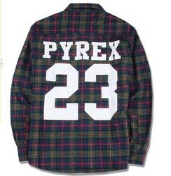 Online Shop PYREX 23 flannel shirt 2013 brand new california shirt style PYREX VISION Fashion loose men fashion boy london clothing Tee|Aliexpress Mobile