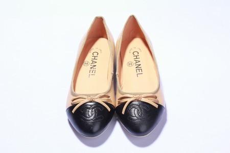 Sapatilha Chanel Classic - BICOLOR - Rosa   Pink