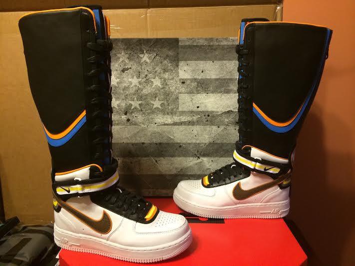 Nike Womens Air Force 1 x Riccardo Tisci RT Boot 7 10 Supreme   eBay