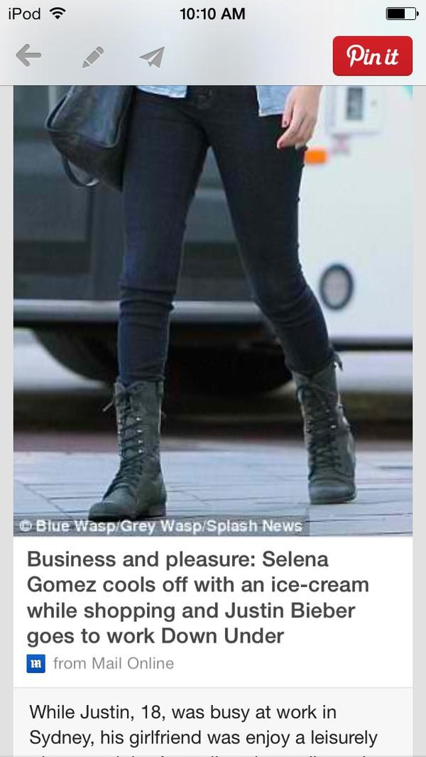 shoes boots selena gomez jeans