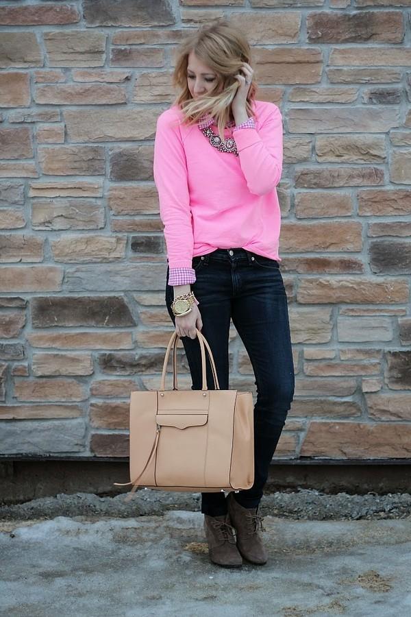 fashion flirtation sweater jeans shoes bag jewels