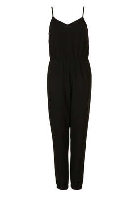Petite Strappy V Neck Jumpsuit - Petite  - Clothing  - Topshop