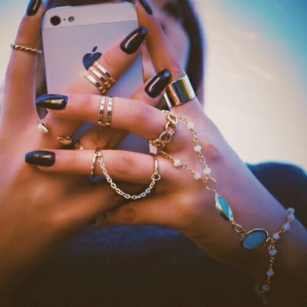 jewels rings cute summer
