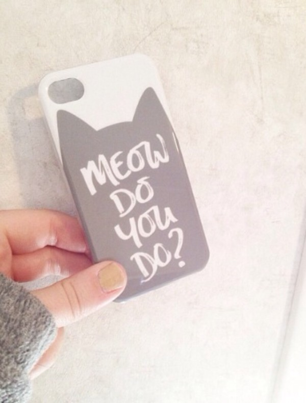 jewels meow cats iphone cover iphone case