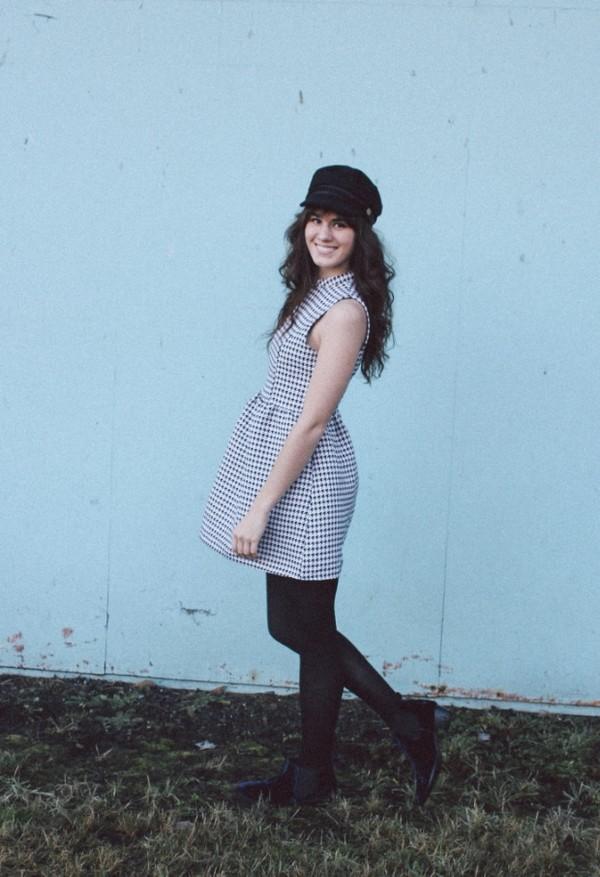 the mop top dress hat shoes