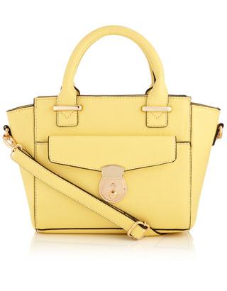 Petit sac à main à poche | Jaune | Accessorize