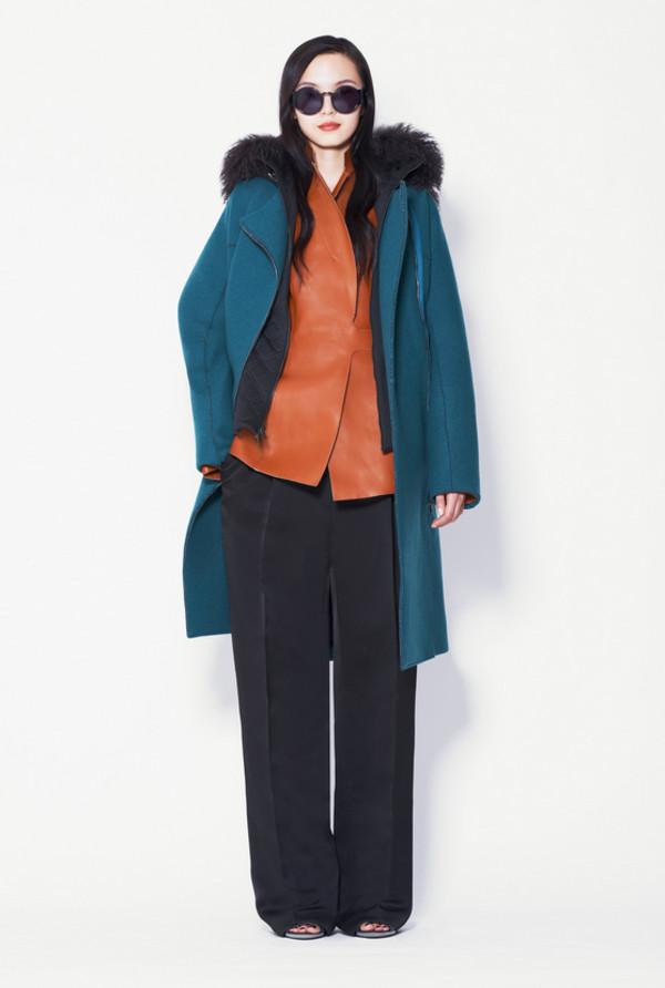 coat fashion phillip lim lookbook jacket