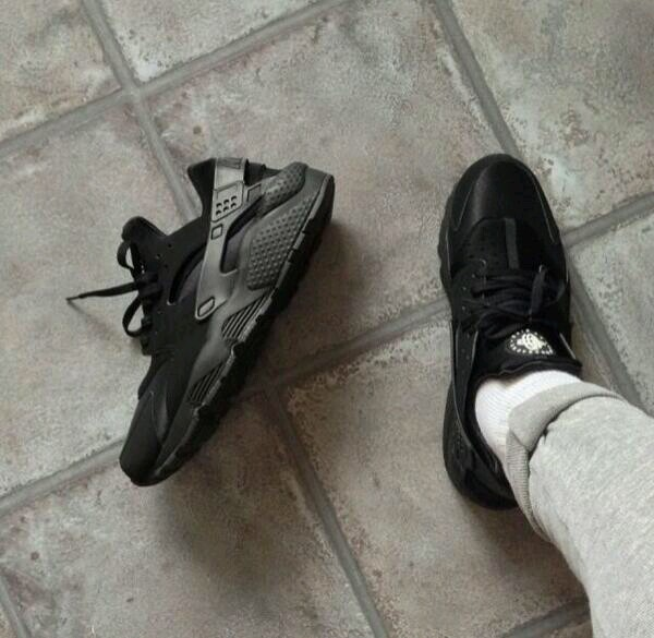 shoes sneakers black swag huarache nike guys girls sneakers basket huarache