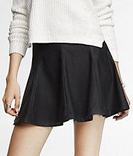 (MINUS THE) LEATHER SEAMED FULL SKIRT | Express