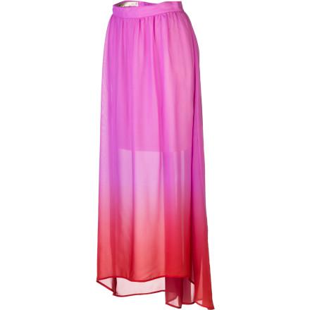 Rhythm Fadin Out Maxi Skirt - Women's | Backcountry.com