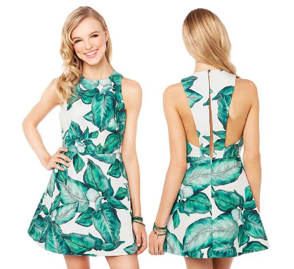 printed dress dress