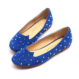 shoes rivet studded loafers flats fashion