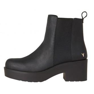 shoes boots chunky platform shoes elastic