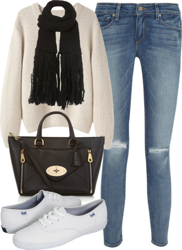 jeans bag sweater