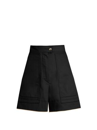 shorts high cotton black